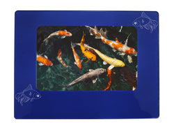 "Blue Goldfish 4"" x 6"" Magnetic Photo Frame (Horizontal/Landscape)"