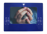 "Blue Hamster 4"" x 6"" Magnetic Photo Frame (Horizontal/Landscape)"