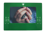 "Green Hamster 4"" x 6"" Magnetic Photo Frame (Horizontal/Landscape)"