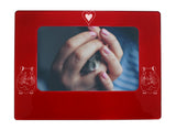"Red Hamster 4"" x 6"" Magnetic Photo Frame (Horizontal/Landscape)"