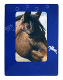 "Blue Horse 4"" x 6"" Magnetic Photo Frame (Vertical/Portrait)"