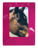 "Pink Horse 4"" x 6"" Magnetic Photo Frame (Vertical/Portrait)"