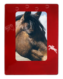 "Red Horse 4"" x 6"" Magnetic Photo Frame (Vertical/Portrait)"