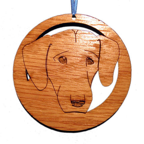 4 inch Labrador Retriever Face Laser-etched Ornament