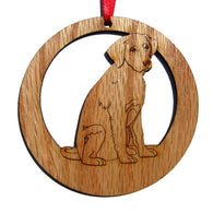 4 inch Labrador Retriever Laser-etched Ornament