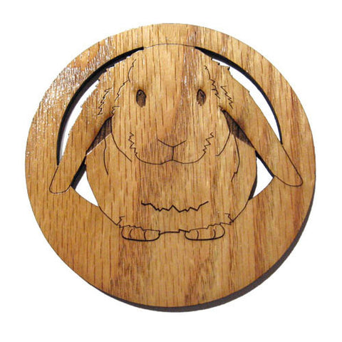 2.5 inch Lop Eared Rabbit Magnet