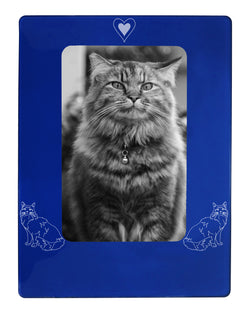 "Maine Coon Cat 4"" x 6"" Magnetic Photo Frame (Vertical/Portrait)"