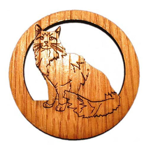 2.5 inch Maine Coon Cat Magnet