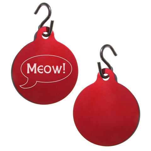"""Meow!"" Pet ID Tag"