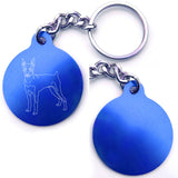 Miniature Pinscher Dog Key Chain