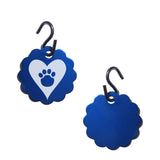 Paw in Heart Pet ID Tag