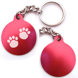Pawprints Key Chain