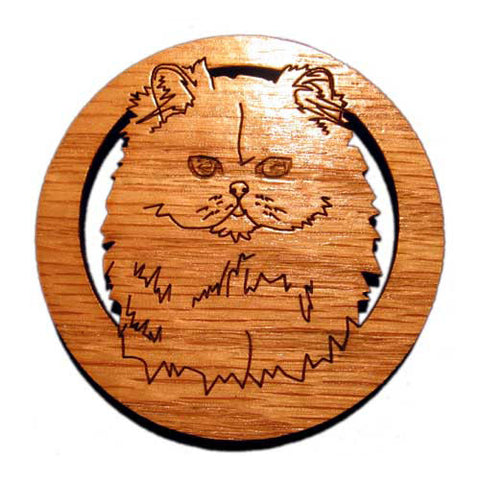 2.5 inch Persian Cat Magnet