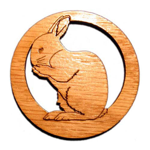 2.5 inch Rabbit Magnet