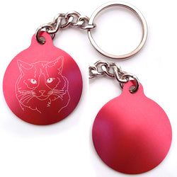 Ragdoll Cat Key Chain