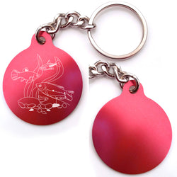 Tropical Fish Key Chain