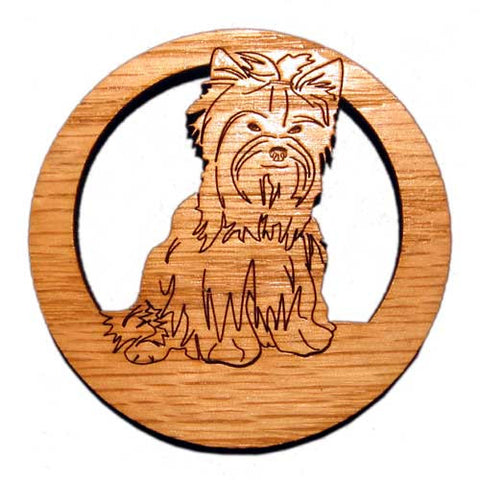 2.5 inch Yorkshire Terrier Magnet