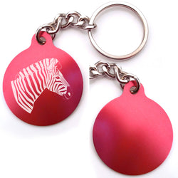 Zebra Key Chain