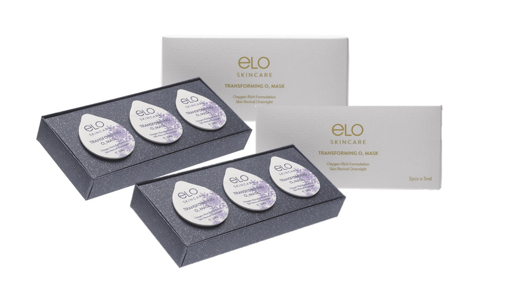 ELO Transforming O₂ Mask (3 Capsules) (Twin Pack)