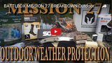 Mission 27 - Outdoor Weather Protection