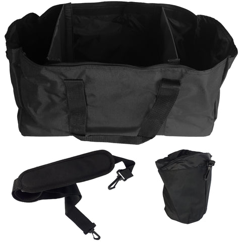 BattlBox Heavy Duty Tactical Range Bag - Black Duffel Bag (FREE SHIPPING) 8