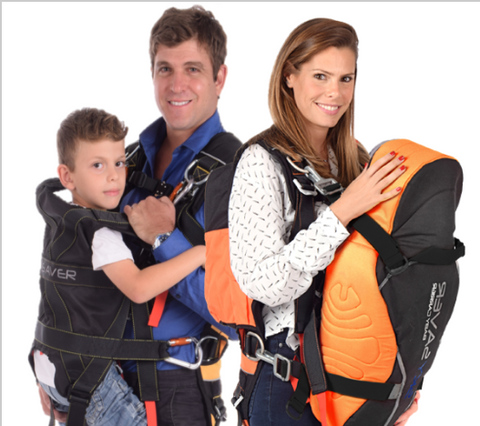 SkySaver Rappelling Backpack - 80' 2