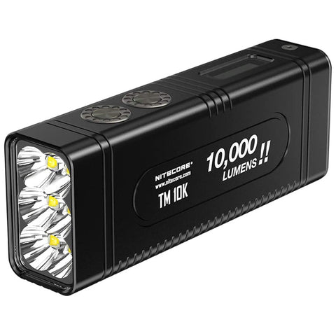 Nitecore TM10K Tiny Monster 10,000 Lumen Burst Rechargeable Flashlight 1