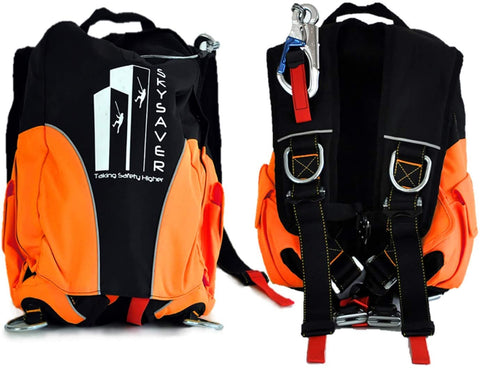 SkySaver Rappelling Backpack - 80' 1
