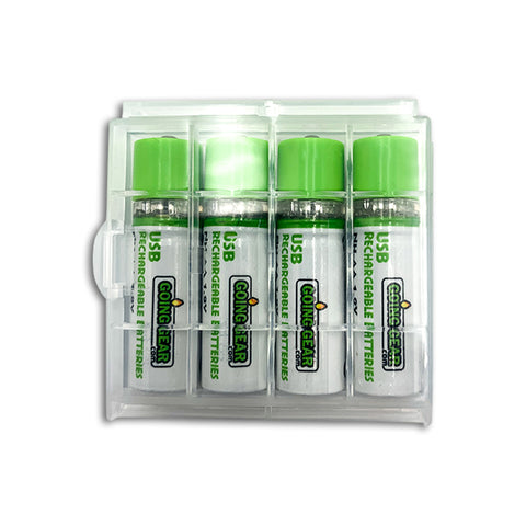 Going Gear USB AA Rechargeable Batteries 1