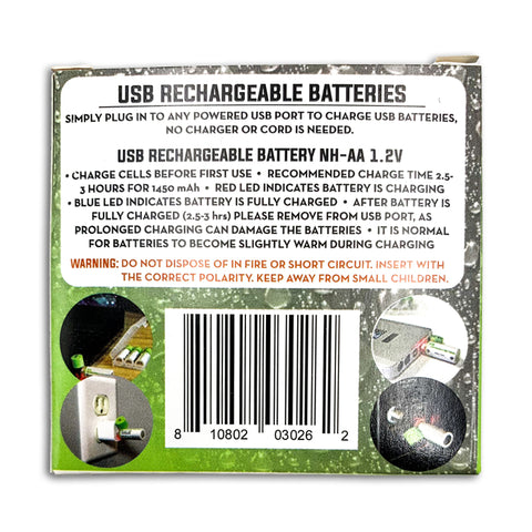 Going Gear USB AA Rechargeable Batteries 7