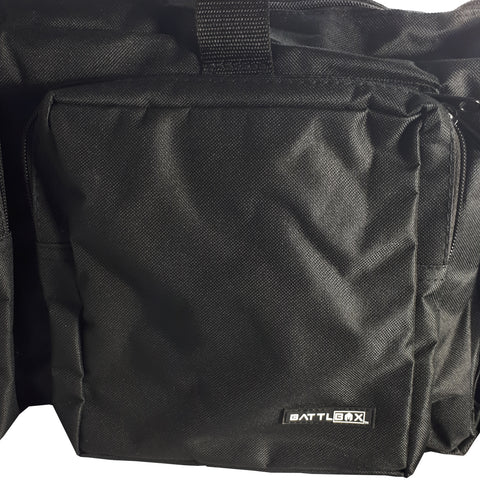 BattlBox Heavy Duty Tactical Range Bag - Black Duffel Bag (FREE SHIPPING) 10