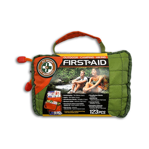 Be Smart, Get Prepared First-Aid Kit