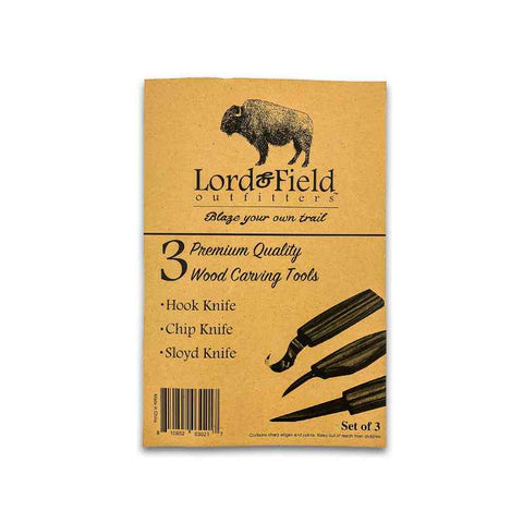 Lord + Field Wood Carving Tool Set