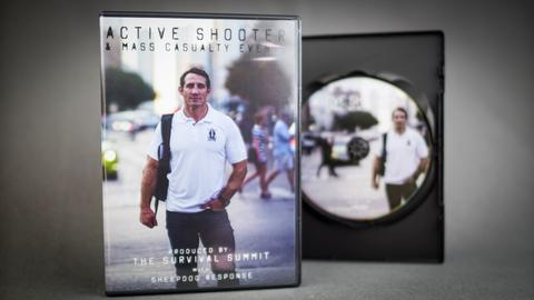 Survival Summit Active Shooter DVD ft. Tim Kennedy from Sheepdog Response