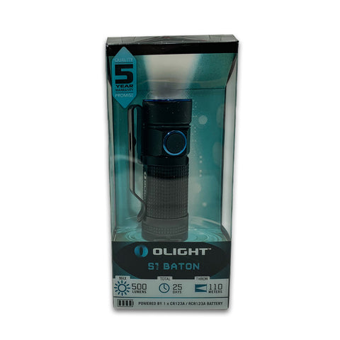 Olight S1 Baton Flashlight (including 1 non-rechargeable CR123A battery) 2