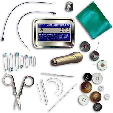 Vigilant Trails Survival Sewing Kit 1
