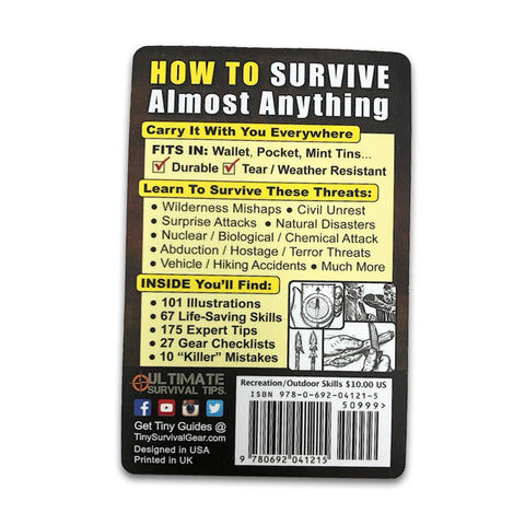 Ultimate Survival Tips-Pocket Survival Guide 5