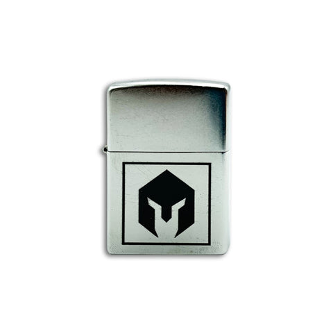 BattlBox Zippo Lighter-Chrome finish 5