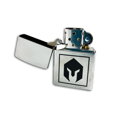 BattlBox Zippo Lighter-Chrome finish 1
