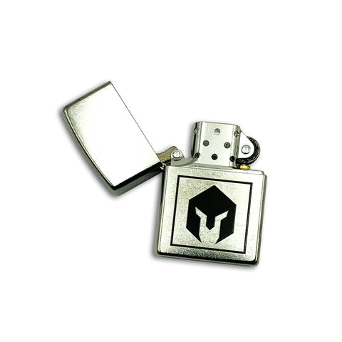 BattlBox Zippo Lighter-Chrome finish 4