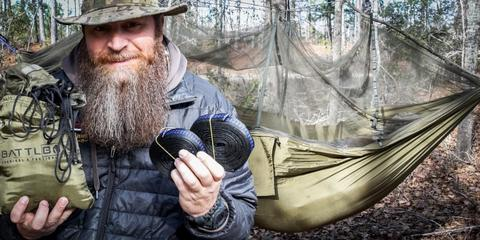 BattlBox Jungle Hammock w/ mosquito net 2