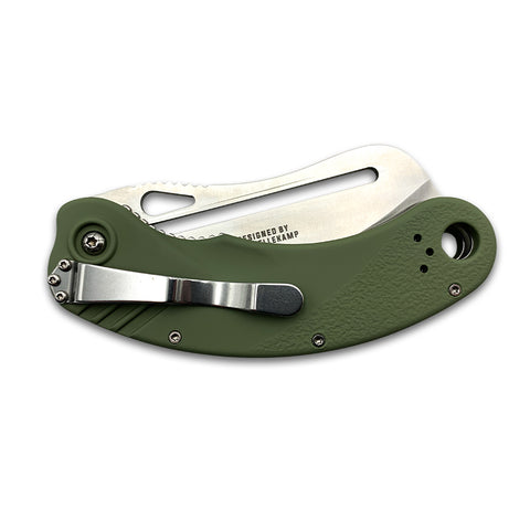 Revolt Knives S.U.L.U.  (Sliding Ultimate Locking Utility) Designed By Mike Vellekamp 21