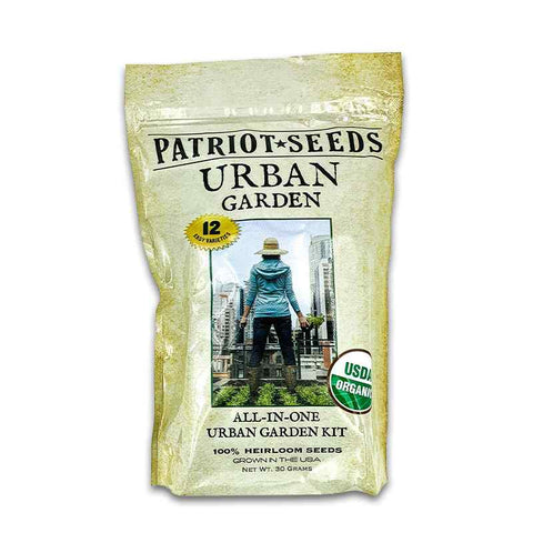 Urban Garden Heirloom Seeds by Patriot Seeds 1