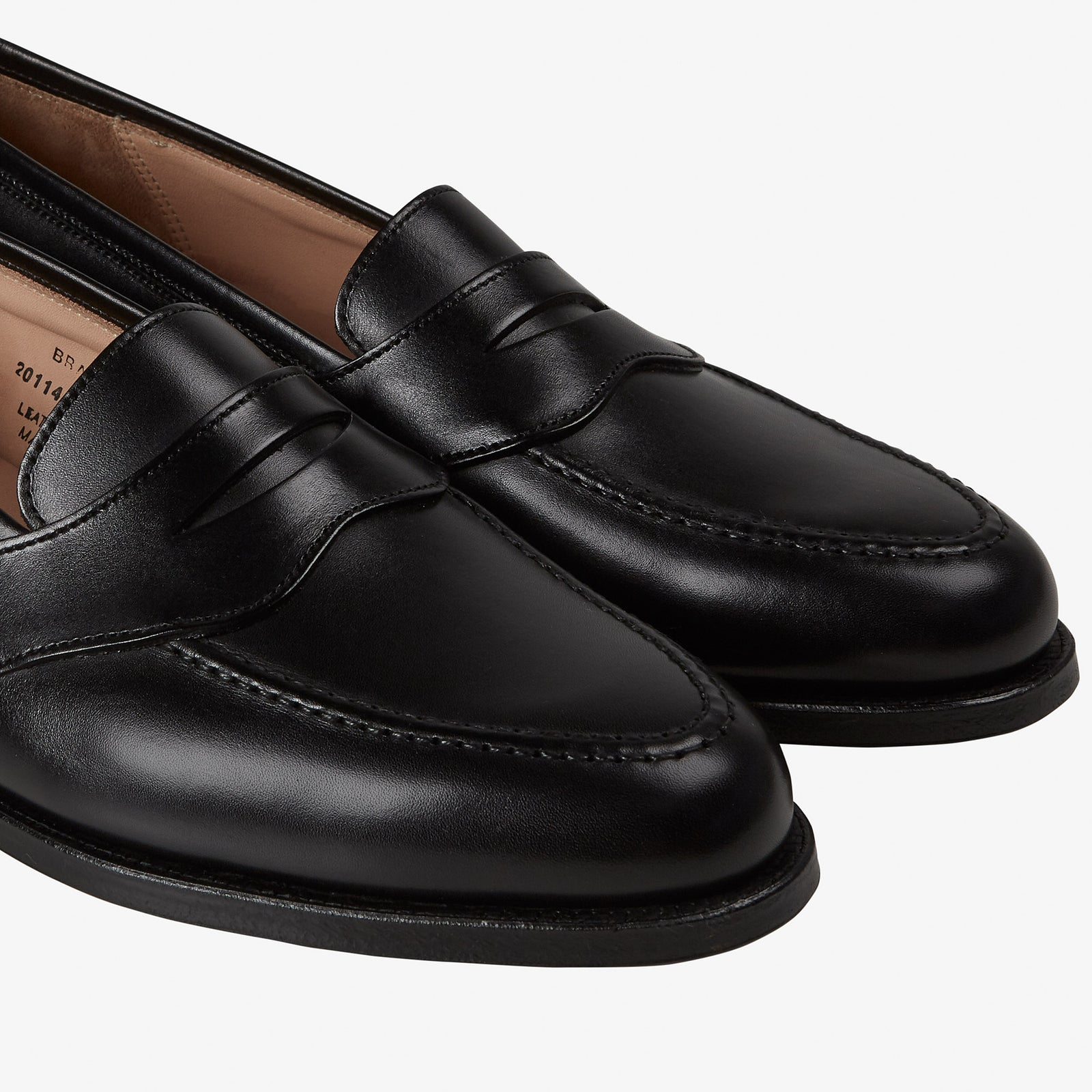 Crockett & Jones Bradbourne Loafer Black Calf