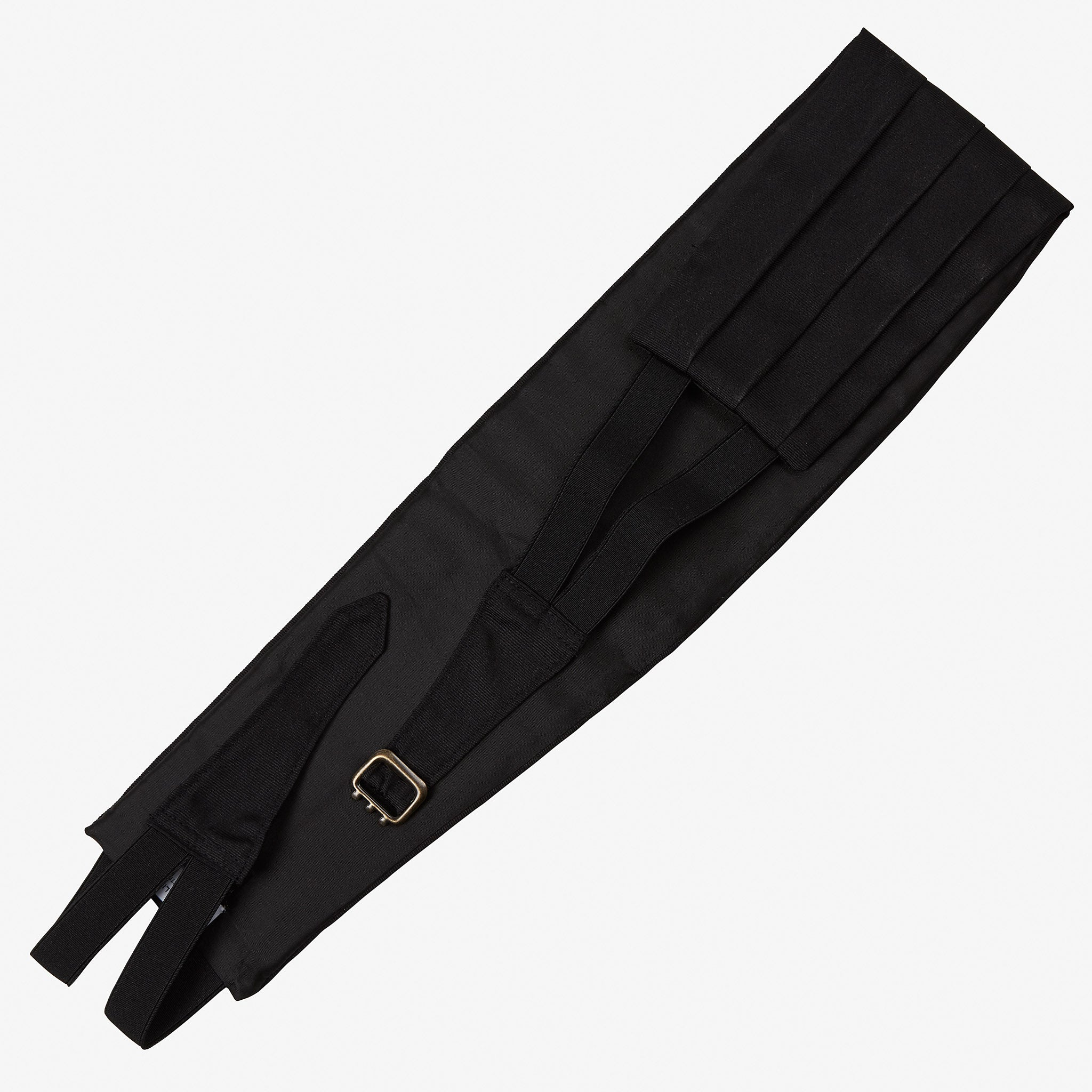 Cummerbund Black Faille Silk