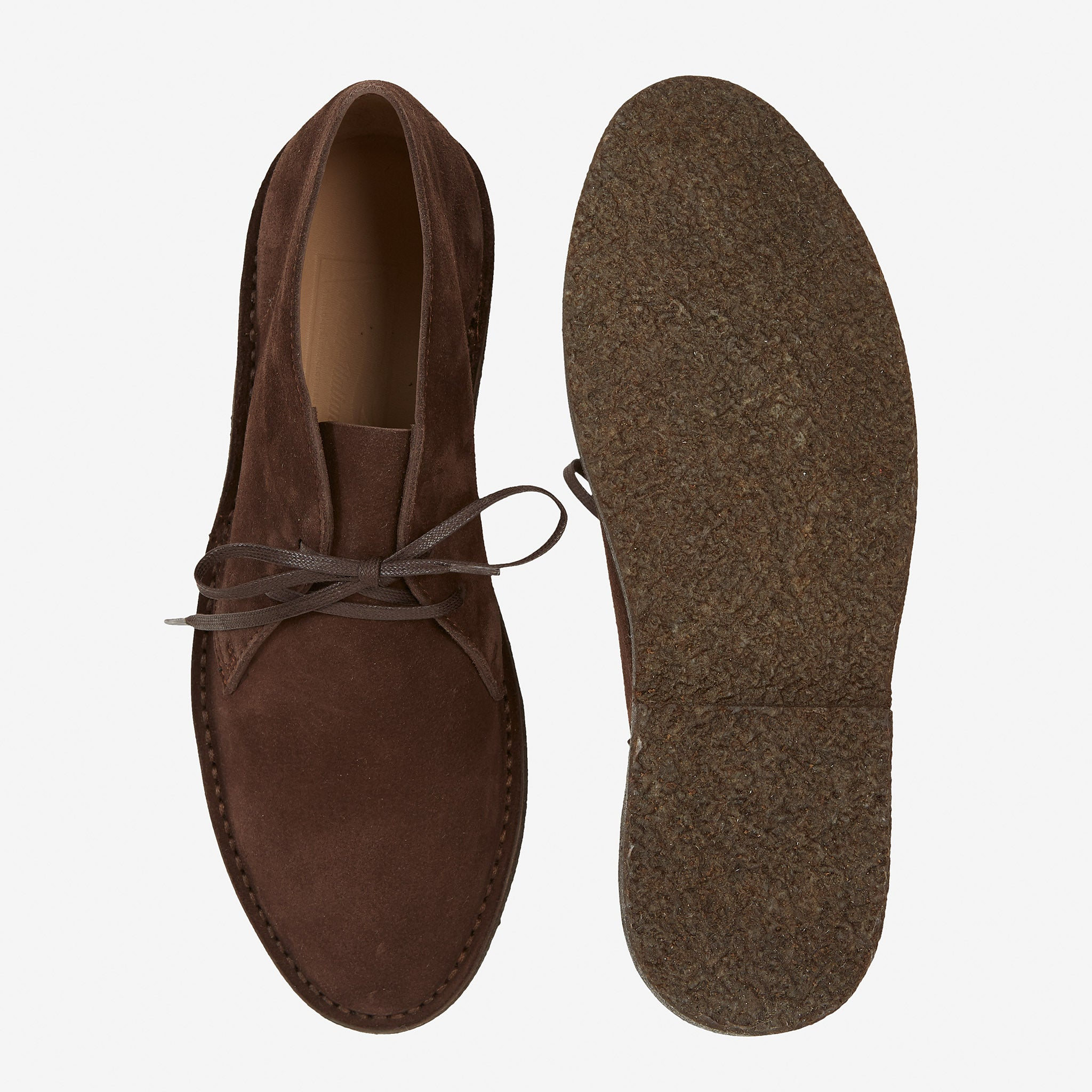 Desert Boot Crepe Sole Chocolate Suede