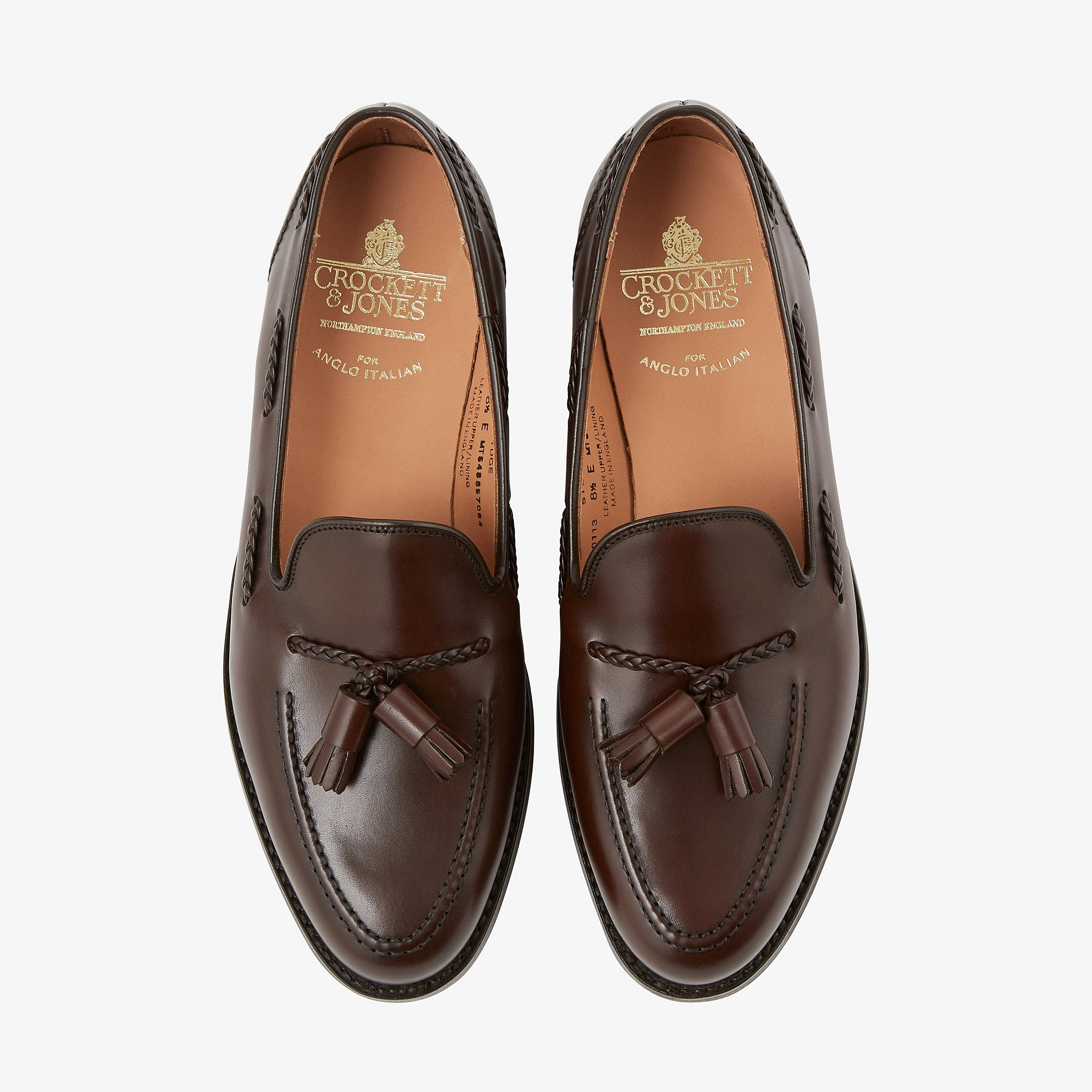 Crockett & Jones Studridge Loafer Espresso Calf City Sole