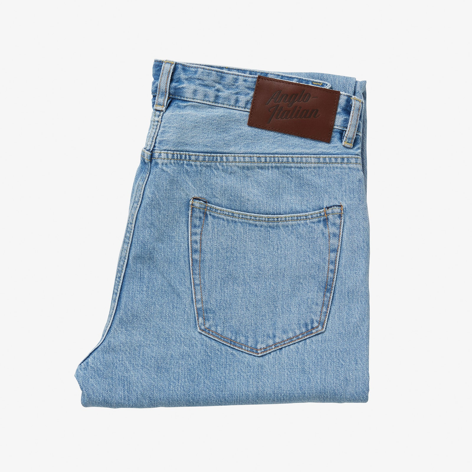 "AIC Denim Light Wash 30"" Inseam"