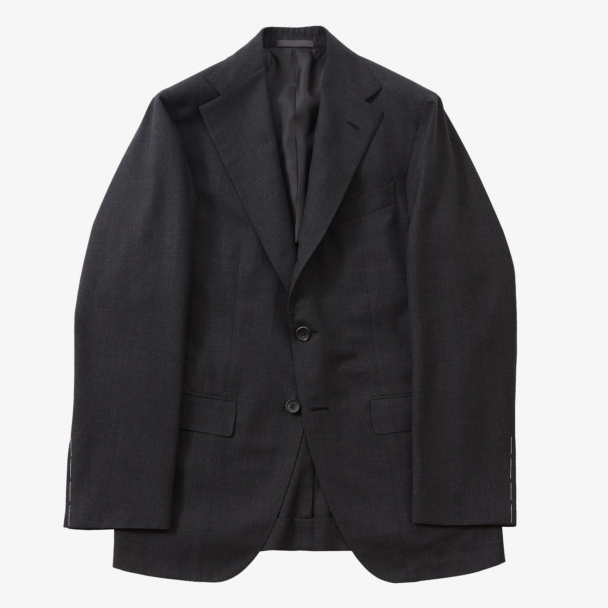 Single Breasted Suit House Wool Dark Grey