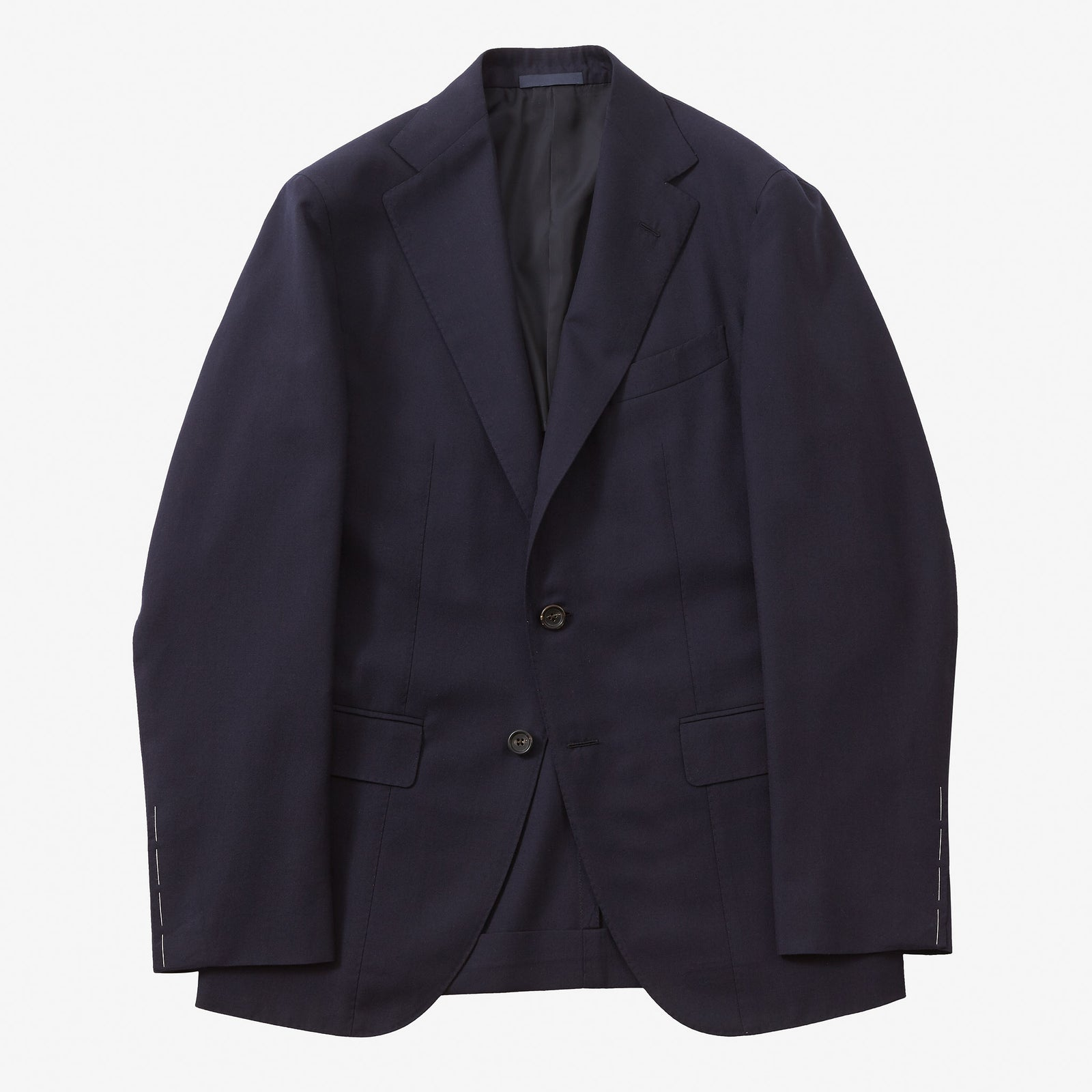 Single Breasted Suit House Wool Dark Navy